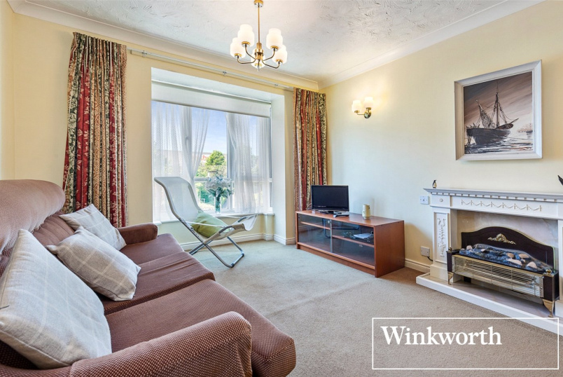 Retirement property for sale in Kingsbury - Radbourne Court, Draycott Avenue, Harrow, HA3
