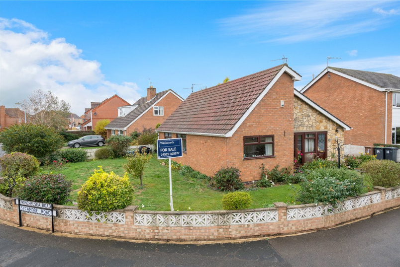 Bungalow for sale in Sleaford - Winchelsea Road, Ruskington, Sleaford, NG34