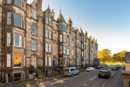 View of Warrender Park Crescent, Edinburgh, EH9