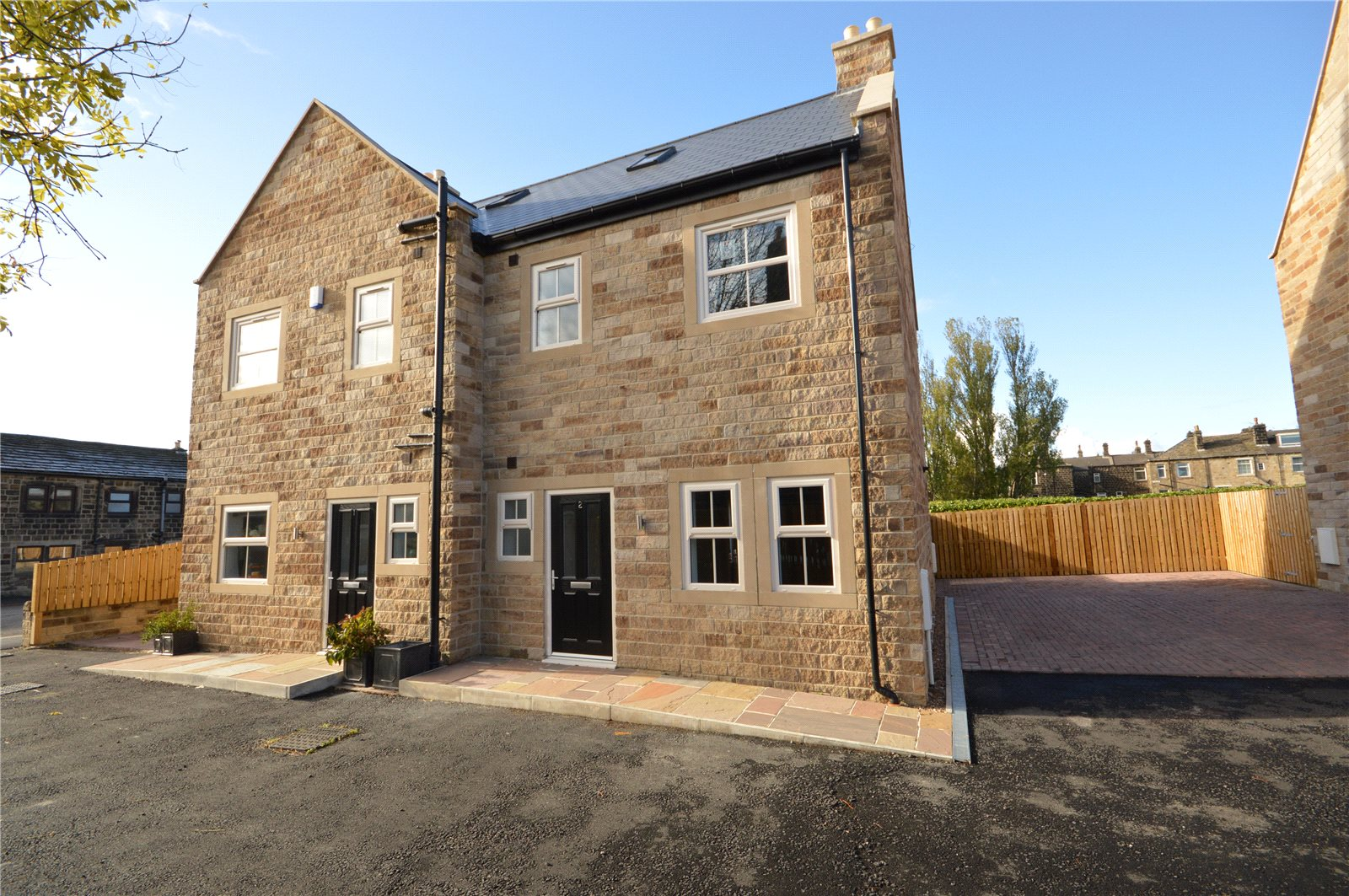 Property for sale in Guiseley, exterior new build