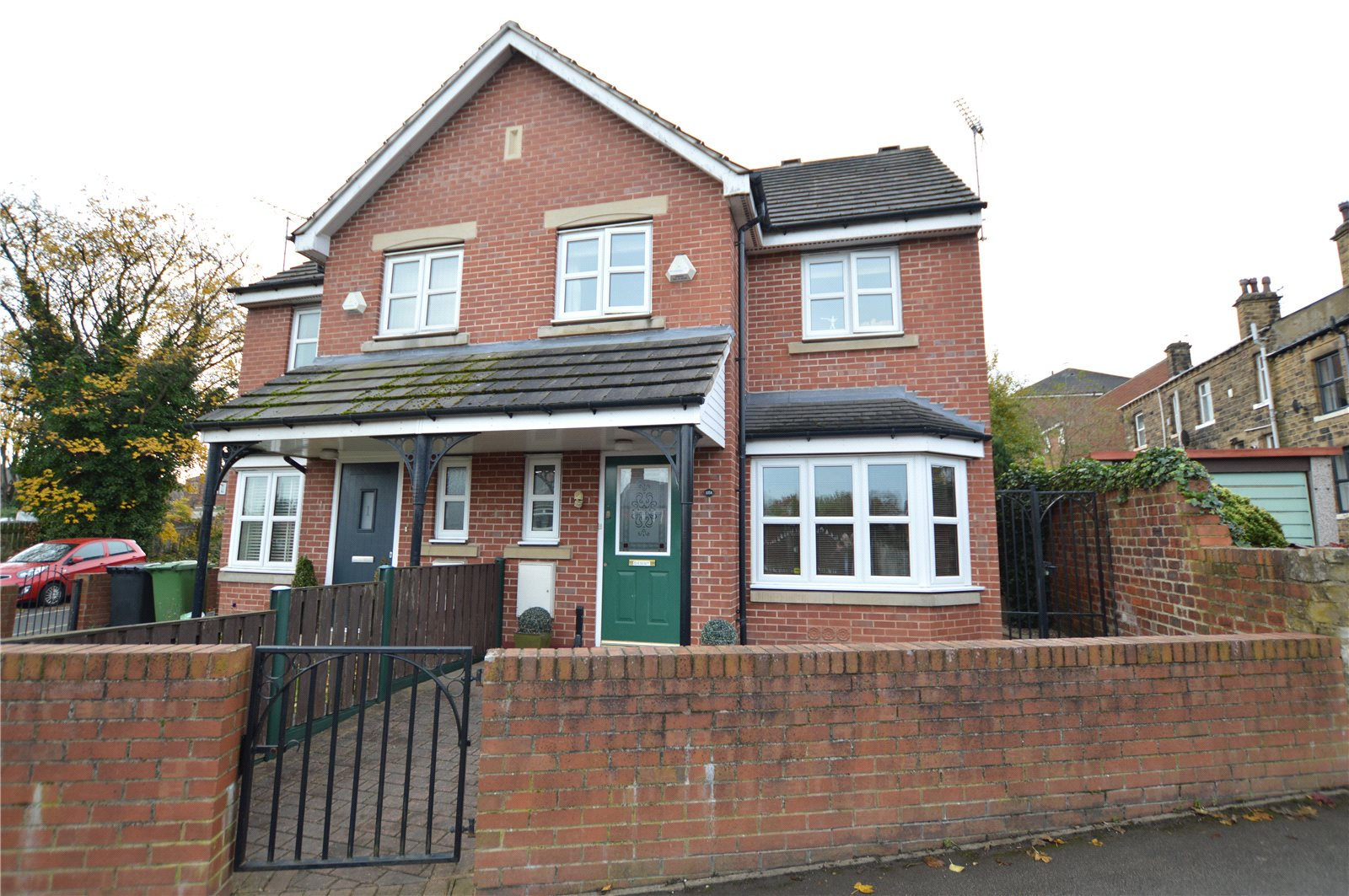 property for sale in Morley, exterior semi detached family home