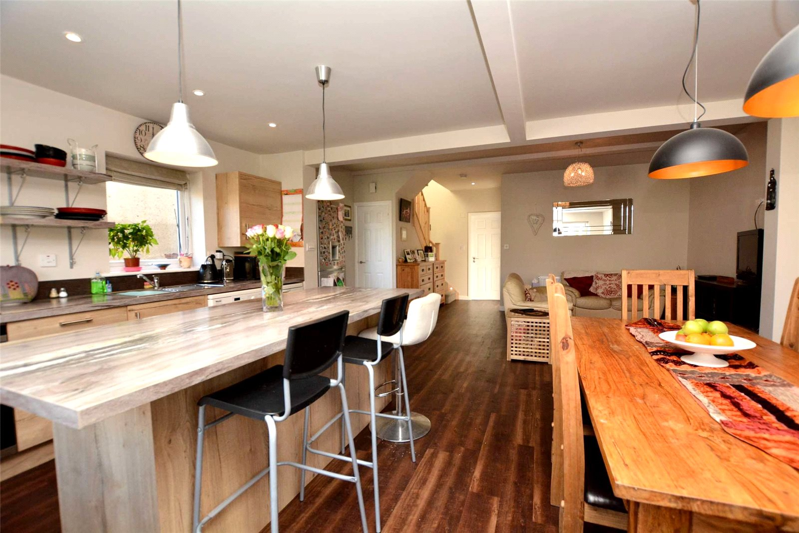 property for sale in Pudsey, interior kitchen dining area