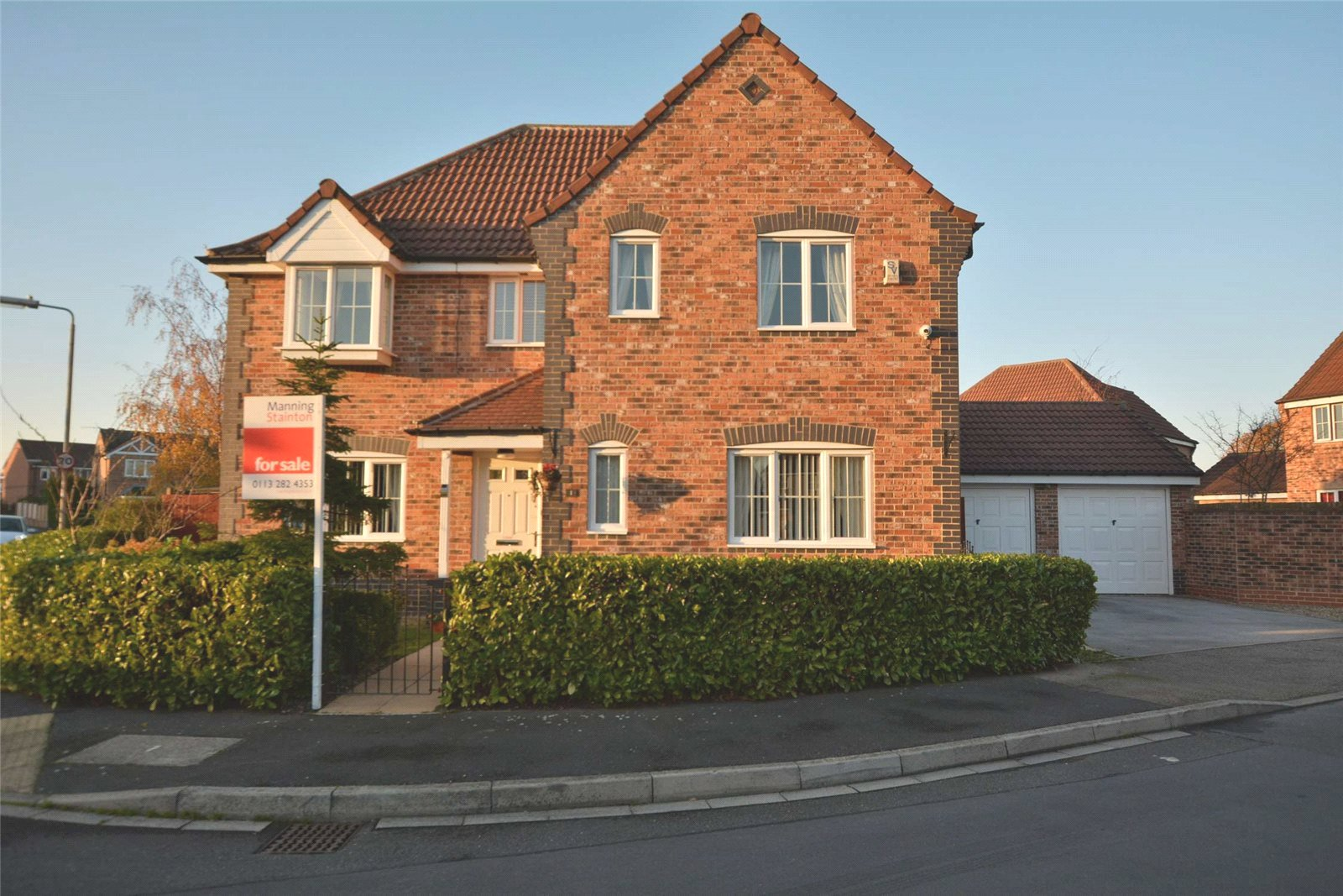 Property for sale in Rothwell, exterior detached home