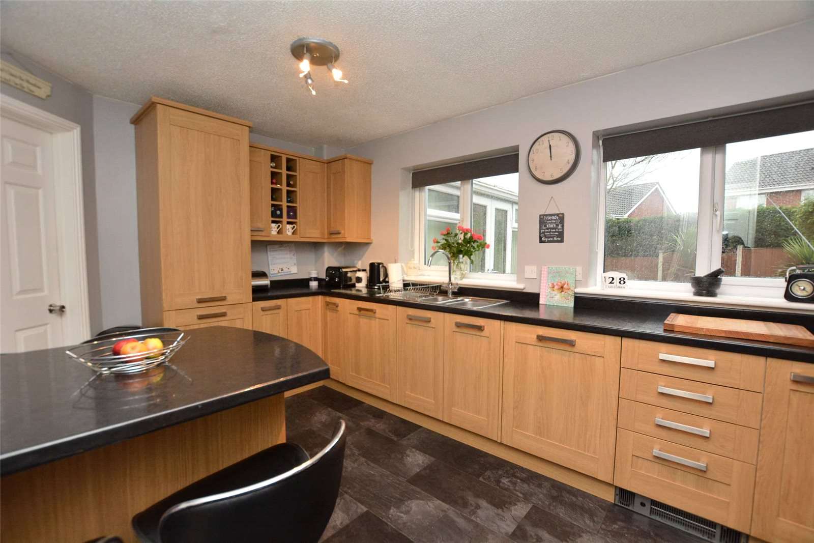 property for sale in Rothwell, interior modern fitted kitchen