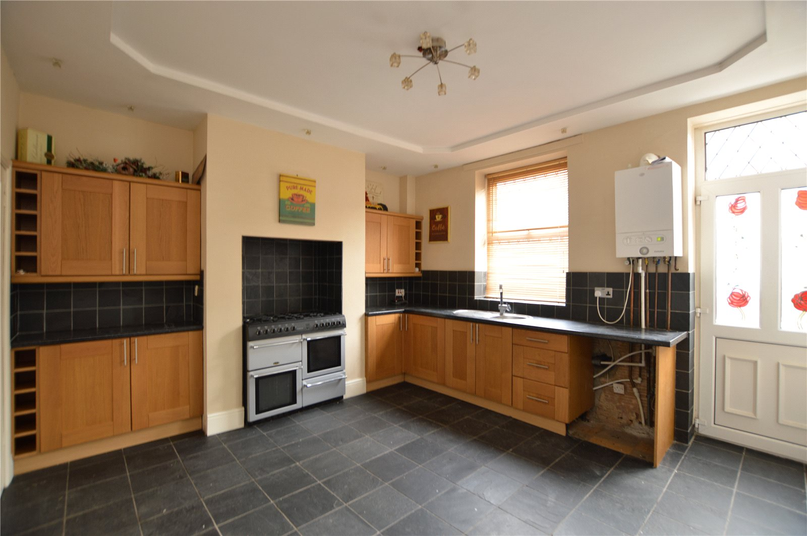 Property for sale Wakefield, interior fitted kitchen