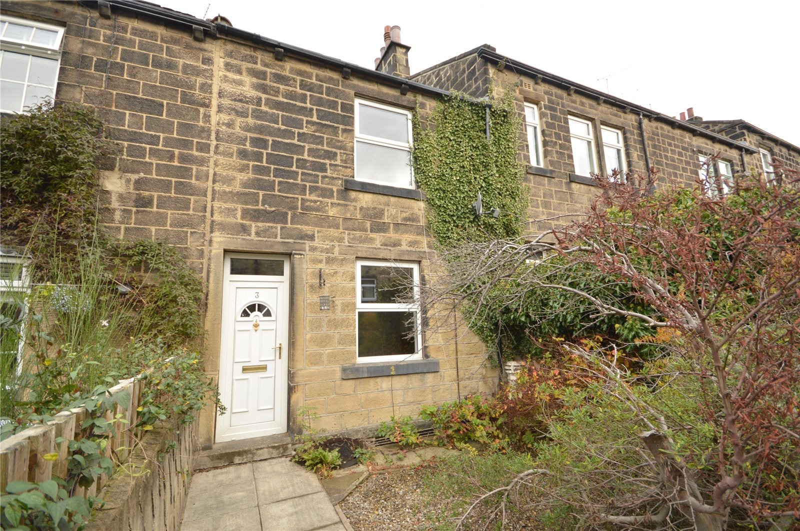 Property for sale in Rawdon, exterior terraced stone house