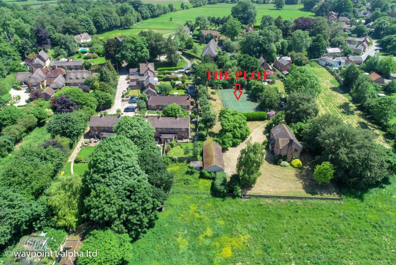 Development plot for sale in Marlborough - Kingston Road, Shalbourne, Marlborough, SN8