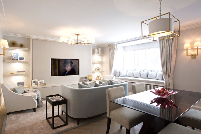 Flat/apartment to rent in Knightsbridge & Chelsea - Greville House, Kinnerton Street, London, SW1X