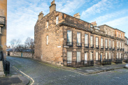 View of Carlton Terrace, Edinburgh, Midlothian, EH7
