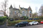 View of Kensington Road, Dowanhill, Glasgow, G12