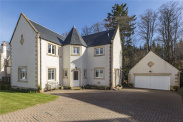 View of Harleyburn Court, Melrose, Scottish Borders, TD6