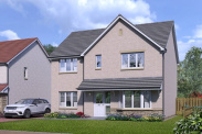 View of Plot 12, The Caringorm, The Views, Saline, Dunfermline, KY12