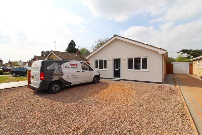 Bungalow for sale in Market Deeping - The Orchard, Market Deeping, Peterborough, PE6