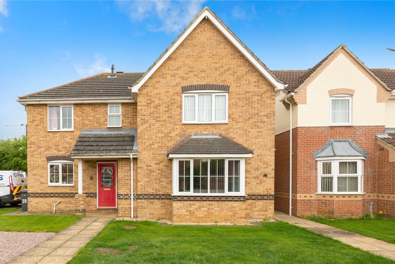 House for sale in  - Limetree Close, Sleaford, Lincolnshire, NG34