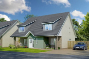 View of Plot 36, The Vorlich, The Views, Saline, Dunfermline, KY12