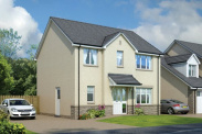 View of Plot 13, The Lomond, The Views, Saline, Dunfermline, KY12