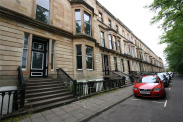 View of Crown Gardens, Dowanhill, Glasgow, G12