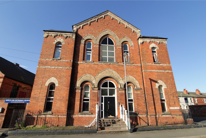 Maisonette for sale in Grantham - The Old Chapel, Lovers Lane, Newark, NG24