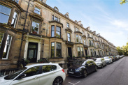 View of Belhaven Terrace, Dowanhill, Glasgow, G12