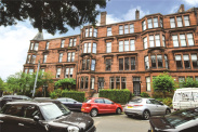 View of Falkland Street, Hyndland, Glasgow, G12