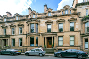 View of Devonshire Terrace, Hyndland, Glasgow, G12