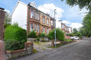 View of Penrith Avenue, Giffnock, Glasgow, G46