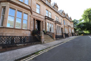 View of Lilybank Terrace, Glasgow, Lanarkshire, G12