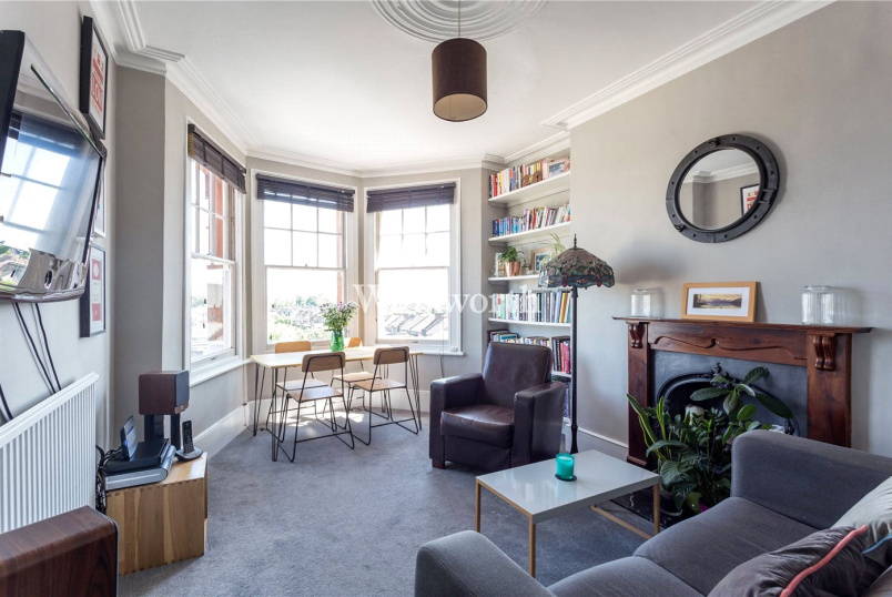 Flat/apartment for sale in Harringay - Station Mansions, Wightman Road, London, N8