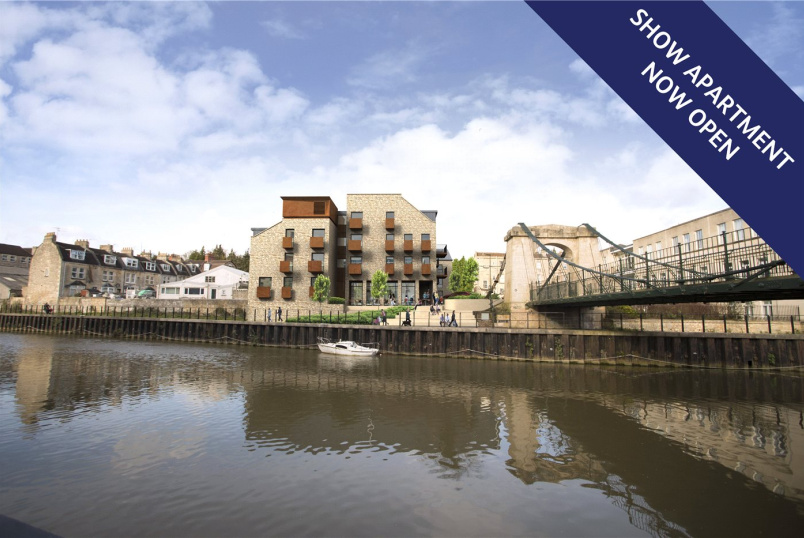 Flat/apartment for sale in Bath - River View Court, Victoria Bridge Road, BA1