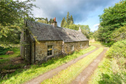 View of Harry Day Cottage, Aberfeldy, Perthshire, PH15