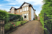 View of Mulberry Road, Newlands, Glasgow, G43