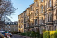 View of Gillespie Crescent, Edinburgh, EH10