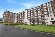 View of Kelvin Court, Kelvinside, Glasgow, G12