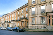 View of Claremont Terrace, Park, Glasgow, G3