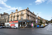 View of Loudon Terrace, Dowanhill, Glasgow, G12