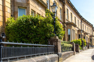 View of Cleveden Crescent, Cleveden, Glasgow, G12