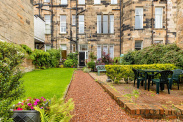 View of Great Western Terrace Lane, Dowanhill, Glasgow, G12