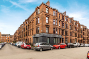 View of Exeter Drive, Thornwood, Glasgow, G11