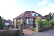 View of Henderland Road, Bearsden, Glasgow, G61