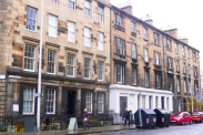 View of Henderson Row, Stockbridge, EH3