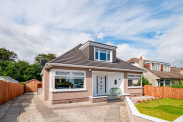 View of Braemar Crescent, Bearsden, G61