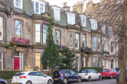 View of Westhall Gardens, Edinburgh, Midlothian, EH10