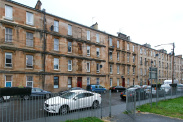 View of Westmoreland Street, Govanhill, Glasgow, G42