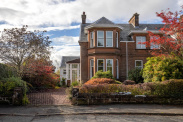 View of Balfleurs Street, Milngavie, Glasgow, G62