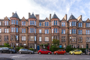 View of Marchmont Road, Edinburgh, EH9