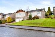 View of Mar Drive, Bearsden, Glasgow, G61