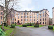 View of Hughenden Gardens, Glasgow, G12