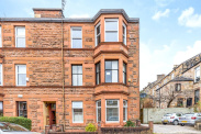 View of Millbrae Crescent, Langside, Glasgow, G42