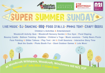 Community event in Winchmore Hill this Sunday