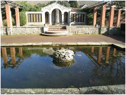 Bid for money to restore Broomfield Park Garden of Remembrance